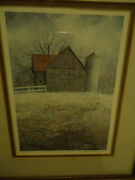 David Knowlton Print 135/1000 'taste Of The Past' Mail Pouch Tobacco Barn Sign