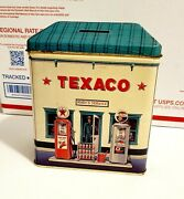 Texaco Rudyand039s Service Station Tin Bank R And B Collectibles Vintage Free Shipping