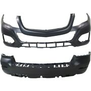 2048802149, 2048800849 New Bumper Covers Facials Set Of 2 Front And Rear Pair