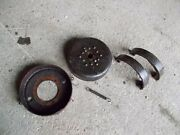 Mccormick Farmall F20 Ih Tractor Right Brake Shoes Drum And Bracket Parts