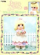 Precious Moments Dolls To Crochet 16 Dolls And Outfits Leisure Arts Booklet 3189