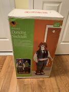 Rare 5' Gemmy Animated Dancing Skeleton Pirate Sings Lights Up Moves Ac Adaptor