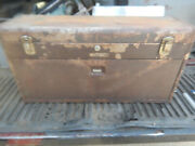 Older Kennedy 526 Machinist Toolbox Needs Painting No Key