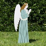 Outdoor Nativity Store Outdoor Nativity Set Add-on - Angel Standard Color