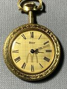 One Of A Kind Rare Christian Dior Mcdonalds Pocket Watch - Corporate Gift.