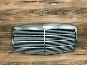 Mercedes Benz Oem W126 500sel 380sel 300sd Front Hood Grille Grill 1981-1985