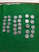 4 Sets Wolfe Dairies Knoxville Tenn 30 Tokens 1cent 10 Cent 25 Cent Coin