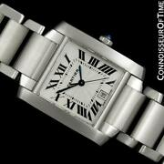 Tank Francaise Large Mens Automatic Stainless Steel Watch - W51002q3