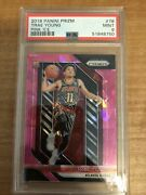 Hawks Trae Young 2018-19 Prizm Pink Ice Rookie Rc Graded Psa 9 Mint