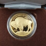 2021 Proof Us 1 Oz American Gold Buffalo Fresh From Us Mint Ogp Box And Coa