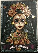 Barbie Dia De Muertosday Of The Dead Doll 2019 Limited Edition Very Rear