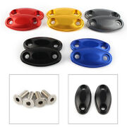 Side Rearview Mirror Hole Caps Cover Cnc Aluminum For Honda Cb650f 2014-up