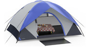 Ciays Camping Tent, Waterproof Family Tent With Removable Rainfly And Carry Bag