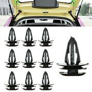 10x For Mg Zs Mg3 Rear Boot Load Cover Bumper String Cord Clips Trim Fasteners