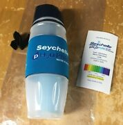 New Seychelle Ph2o Pure Water Filtration Bottle With Alkaline Ph Enhanced Filter