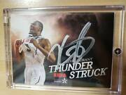 Limited To 10 Sheets Ssp Sign 2011 -12 Panini Thunder Struck Movie Kevin Durant