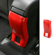 For Jeep Renegade 2015-20 Rear Air Outlet Anti-kick Panel Vent Trim Abs Red News