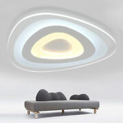 Used Acrylic Led Lamp Lighting Ceiling Fixture Mounted Lamp Dining Room Bedroom