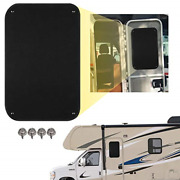 16 X 25 Rv Door Window Entry Sunshade Blackout Camper Blackout Privacy Entrance