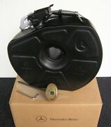 Black Mercedes Reserve Gas Can Jerry Canister Mb Vintage Car Accessory Big 9l