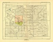 1896 Map Wyoming 2 United States Indian Land Cessions Poster 67