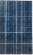 Used 240w 60 Cell Polycrystalline Solar Panels Vinyl Cracking Silver Frame