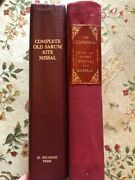 The Old Sarum Rite Altar Missal And Lectionary Ultra Rare St Hilarion Press 1998