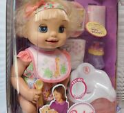 2007 Blonde Baby Alive Doll Learn To Potty Rare Doll New