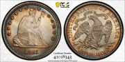 1881 Seated Liberty Quarter 25c Pcgs Certified Ms 64 Mint State Unc 343