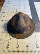 Boy Scout Metal Campaign Hat Piggy Bank Bankers Loan And Trust Sioux City 45-490e