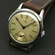 Authentic Omega Vintage Menand039s Watch Hand Wind Ivory Dial V802321303