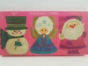 Vintage Ambassador Cards Christmas Capers Box Only. Empty Box