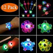 Party Favors For Kids-12 Pack Led Light Up Toys Glow In The Dark Party Supplies