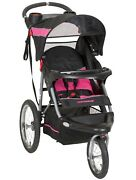 Baby Trend Expedition Jogging Stroller, Bubble Gum Pink, Genuine Product