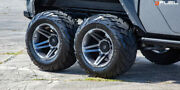 20 Fuel D764 Sfj Wheels For Ford F150 Dodge Chevrolet H2 Gmc Jeep Toyota Nissan