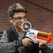 Nerf Ultra Two Motorized Blaster - Fast-back Reloading - Includes 6 Ultra Darts