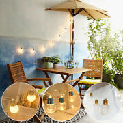 Globe Led Fairy String Lights Battery Festival Decorative For In/outdoor Wedding