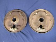 1957 1958 Cadillac Deville Fleetwood Front Backing Plates