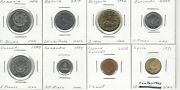 Wholesale Lot 1480 500 In 2 X 2 Holders World Coins 50 Countries A-z