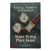Wrist Watch Price Guide Vintage Aerican And European Watch Catalog/ Price List