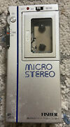 Fisher Micro Stereo Microcassette Player Ph-m20