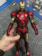 Used Toy 1/6 Hot Toys Mms461d21 Iron Man 2 Mk4 Mark Iv Die-cast Action Figure