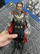 Used Toy 1/6 Hot Toys Mms224 Thor The Dark World Thor Odinson Action Figure