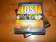 Lost The Complete Second Season 2 Second Tv Series Show Ln Blu-ray Disc Set
