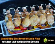 Chicken Wing And Leg Rack For Grill Smoker Or Oven Kitchen Accessories Cooking Bbq