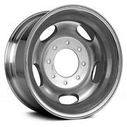 For Ford F-250 Super Duty 05-16 Alloy Factory Wheel 5-vent Polished 17x6.5 Alloy