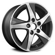 For Acura Tsx 11-13 Alloy Factory Wheel 5 Turbine-spoke Machined And Charcoal