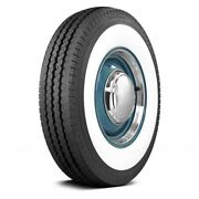 Coker Set Of 4 Tires 31x8r16 P Classic 4 Inch Whitewall Classic / Muscle / Retro