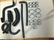 Triumph Spitfire Mk2 Mk3 Early Mk4 Reinforced Rubber Cooling Hose Set With Clips
