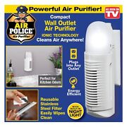 As Seen On Tv Air Police Wall Outlet Air Purifier And Nightlight